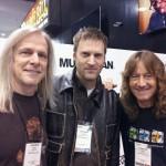 Steve Morse, Donnie Schexnayder and Dave LaRue